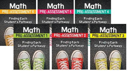 Math Pre-Assessment Multi-Grade Sets