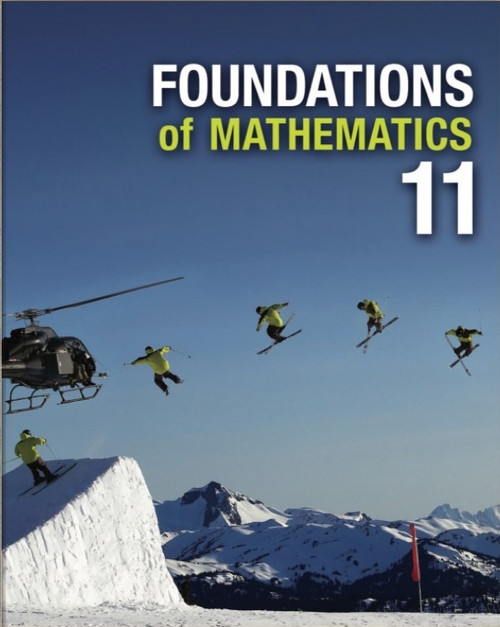 Foundations of Mathematics 11 (Nelson) - Online Student Centre (12 Month Online Subscription)