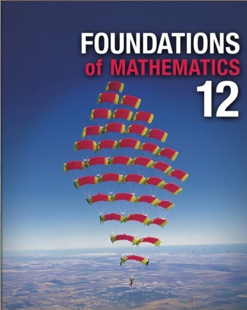 Foundations of Mathematics 12 (Nelson) - Online Student Centre (12 Month Online Subscription)