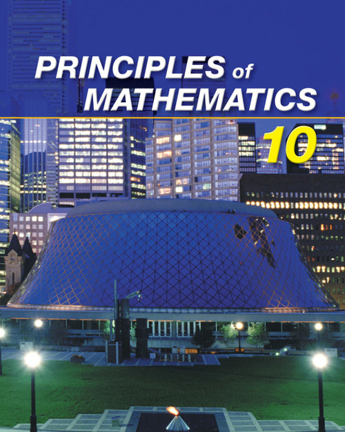 Nelson Principles of Mathematics 10 (12 Month Online Subscription)