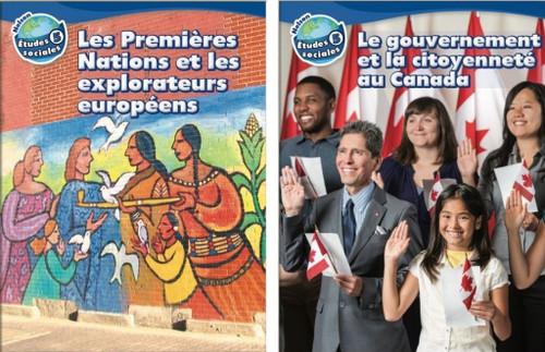 Nelson etudes sociales - Grade 5: Strand A (Les Premieres Nations et les explorateurs europeens) & Strand B (Le gouvernement et la citoyennetee au Canada) (12 Month Online Subscription)