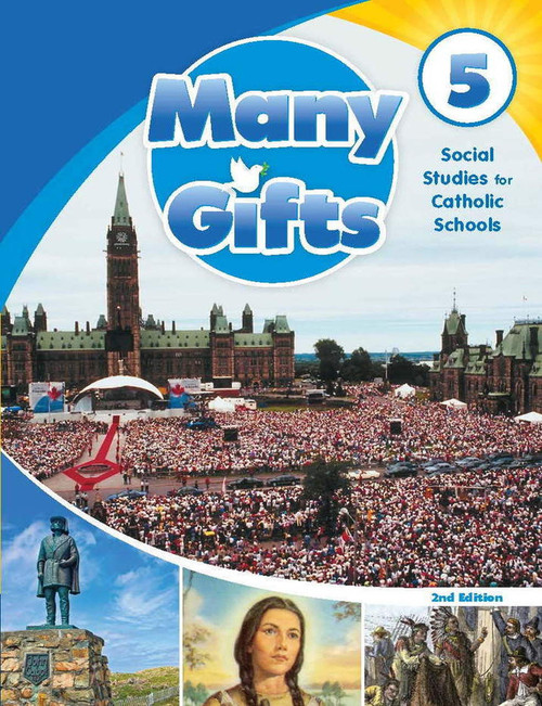 Many Gifts - Grade 5: Online Student Centre (12 Month Online Subscription)