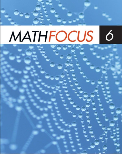Math Focus - Grade 6: Student Ebook (12 Month Online Subscription)