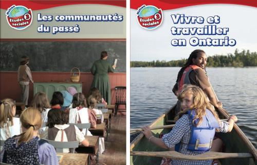 Nelson etudes sociales - Grade 3: Strand A (Les communautes du Canada) & Strand B (Vivre et travailler en Ontario) - Student Ebook (12 Month Online Subscription)