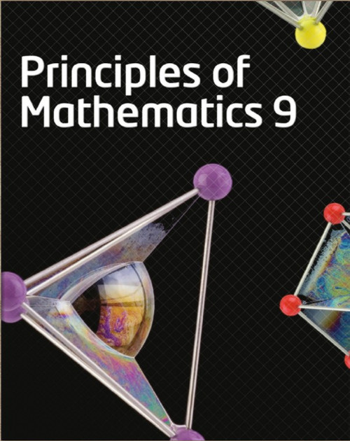 McGraw Hill Principles of Mathematics 9 - Student Ebook (12 Month Online Subscription)
