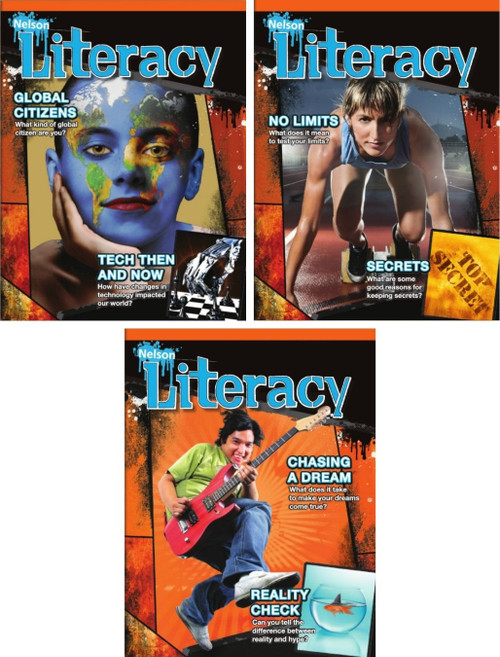 Nelson Literacy 8 - Student Ebooks (8A + 8B + 8C) (12 Month Online Subscription)