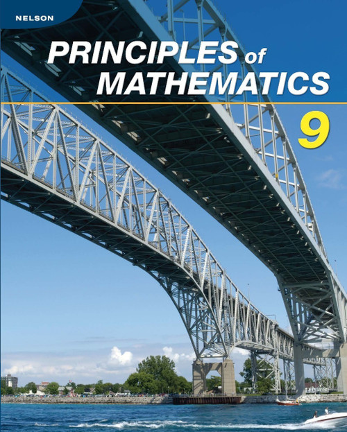 Nelson Principles of Mathematics 9 - Student Ebook (12 Month Online Subscription)