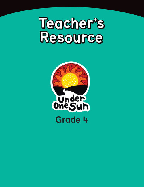 Under One Sun Sets - Grade 4 Teachers Resources