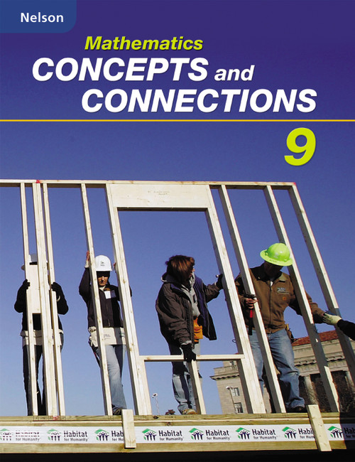 Nelson Mathematics Concepts and Connections 9   Student Workbook