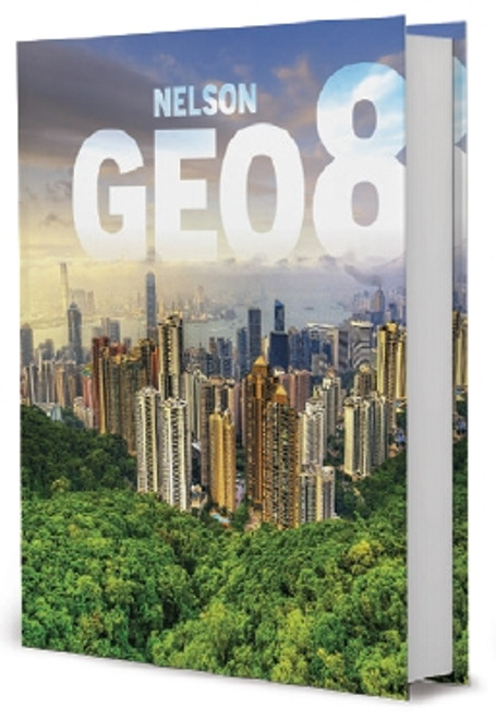 Nelson GEO 8 Student Book (Online PDF) - Printed Access Card