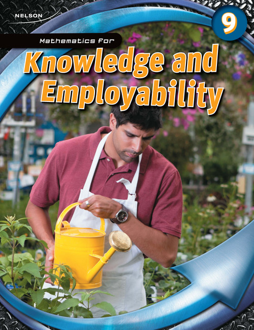Mathematics for Knowledge and Employability - Grade 9   Record of Learning - 9780176679118