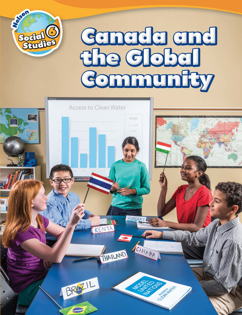 Nelson Social Studies 6 | Student Book (Online PAC) - 9780176698942