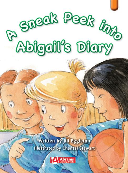 Key Links Literacy Orange A Sneak Peek into Abigail's Diary