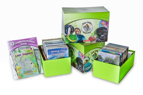 Key Links Literacy Magenta Classroom Set
