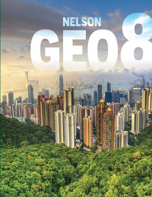 Nelson GEO8 | Student Book (Book + Online PDF) - 9780176590567