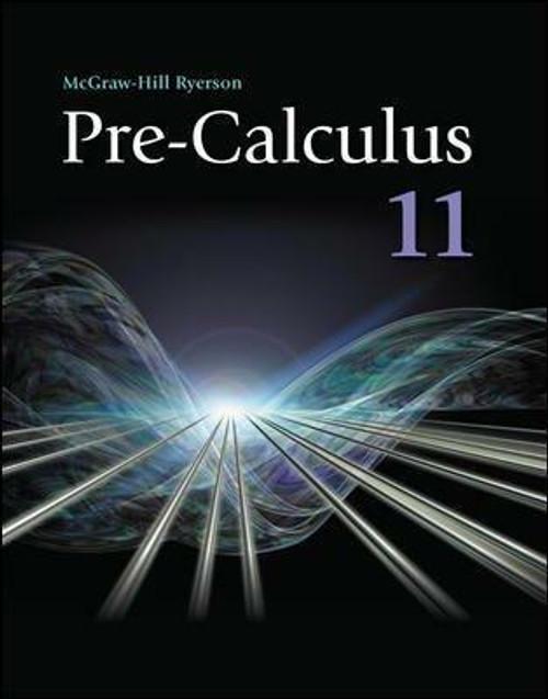 Pre-Calculus 11 | Hardcover - 9780070738737