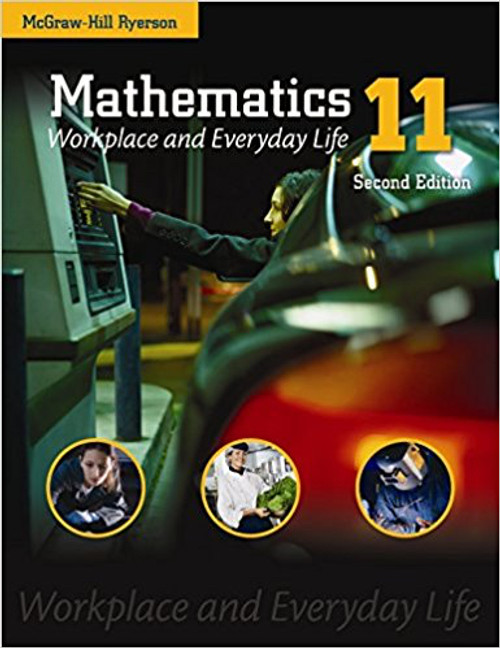 Mathematics 11: Workplace & Everyday Life | Softcover - 9780071340113