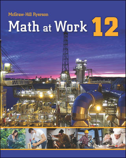 Math at Work 12 | Hardcover - 9781259012389