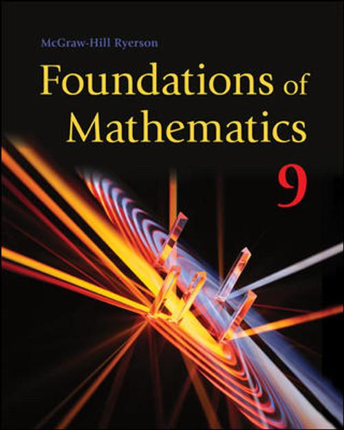 Foundations of Mathematics - Grade 9 | Student Edition - 9781259077418