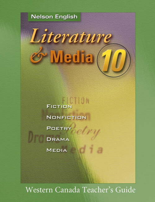 Literature & Media 10 Teacher's Resource, Western Ed.