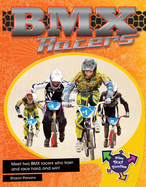 Nelson Text Directions 6 BMX Racers