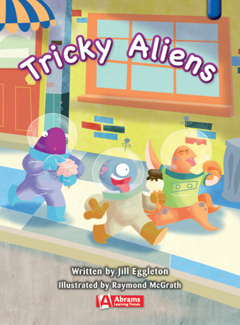 Key Links Literacy Blue Tricky Aliens