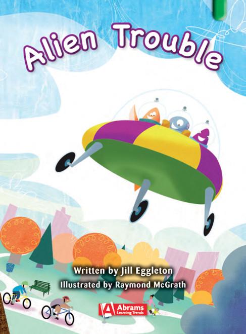 Key Links Literacy Green Alien Trouble