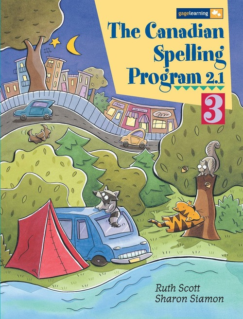 Canadian Spelling 3 | Activity Master - 9780771515941