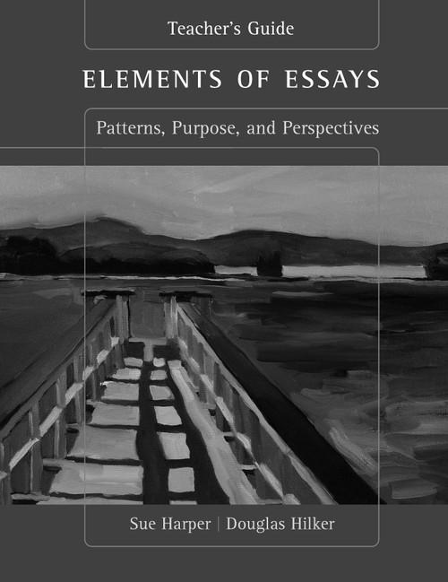Elements of Essays Teacher's Resource