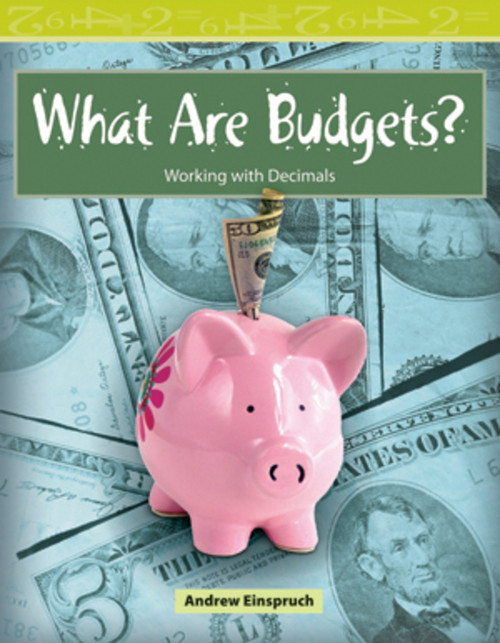 Mathematics Readers 3 What Are Budgets