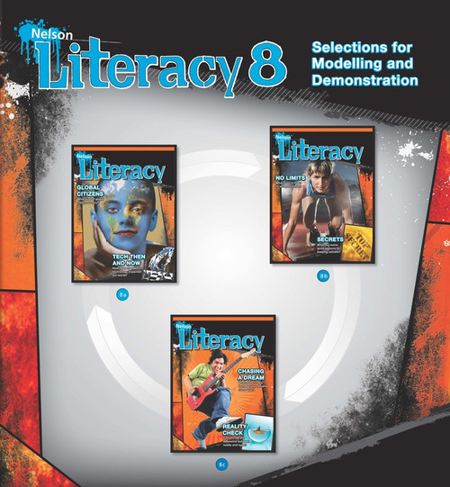 Nelson Literacy 8 - Selections for Modelling and Demonstration | Modelling and Shared Reading Package - 9780176238537