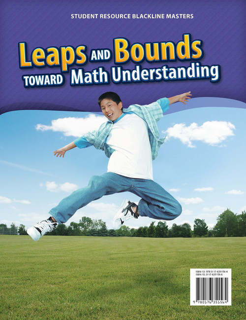 Leaps and Bounds 7/8 | Student Resource: Blackline Masters - 9780176351564