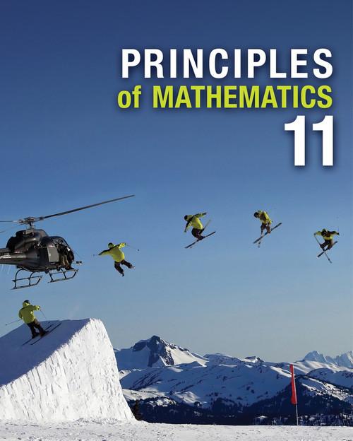 Principles of Mathematics 11   Student Book: Interactive eBook - 9780176352707