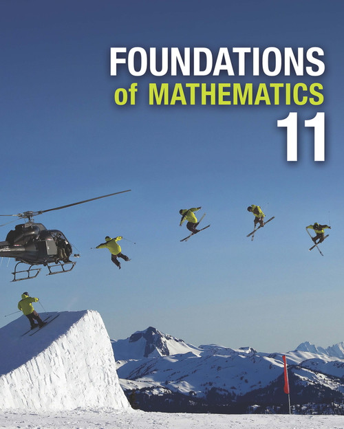 Foundations Of Mathematics - Grade 11 | Student Book with Online eBook Access - 9780176502706