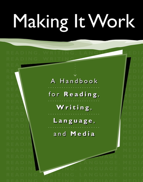 Making It Work Student Handbook: Student Handbook