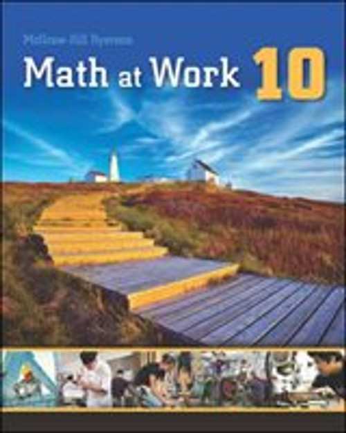 Math at Work 10 | Exercise And Homework Book - 9780071091152