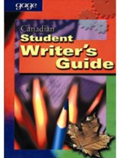 Canadian Student Writers Guide   Softcover - 9780771513183