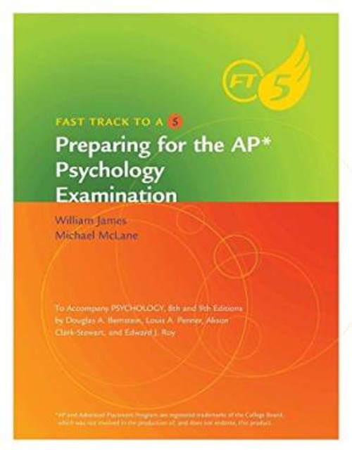 Psychology, 9th: Fast Track to a 5 AP Test Prep Workbook