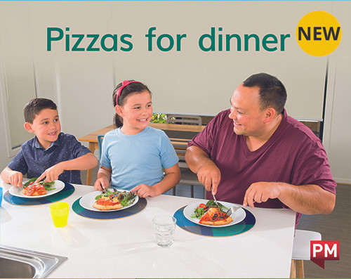PM Library Magenta Level 1 Pizzas for dinner (wordless) 6-pack