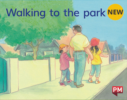 PM Library Magenta Level 1 Walking to the park (wordless) 6-pack