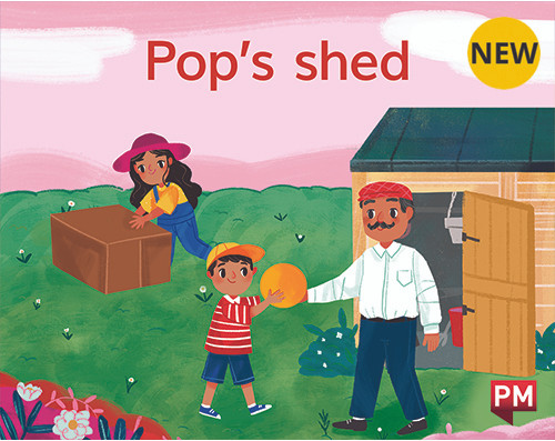 PM Library Magenta Level 1 Pop's Shed 6-pack