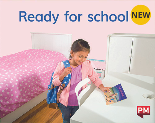 PM Library Magenta Level 2 Ready for school 6-pack