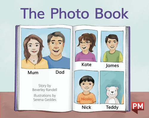PM Library Red Level 3 The Photo Book 6-pack