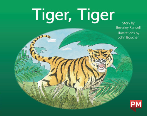 PM Library Red Level 3 Tiger, Tiger 6-pack