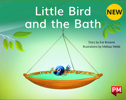 PM Library Red Level 3 Little Bird and the Bath 6-pack