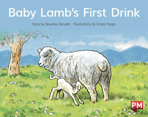 PM Library Red Level 4 Baby Lamb's First Drink 6-pack