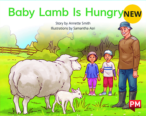 PM Library Red Level 4 Baby Lamb is Hungry 6-pack