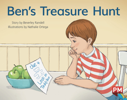 PM Library Red Level 5 Ben's Treasure Hunt 6-pack