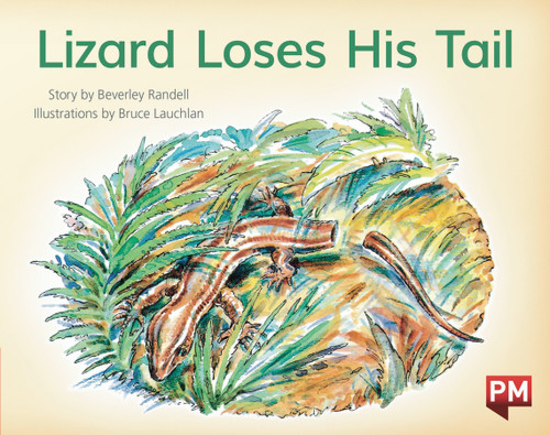 PM Library Red Level 5 Lizard Loses His Tail 6-pack