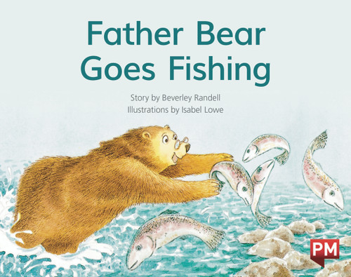 PM Library Red Level 5 Father Bear Goes Fishing 6-pack